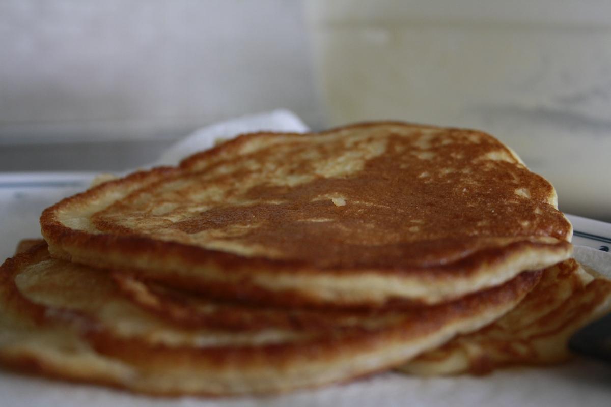 Fluffy, Yummy American Pancakes