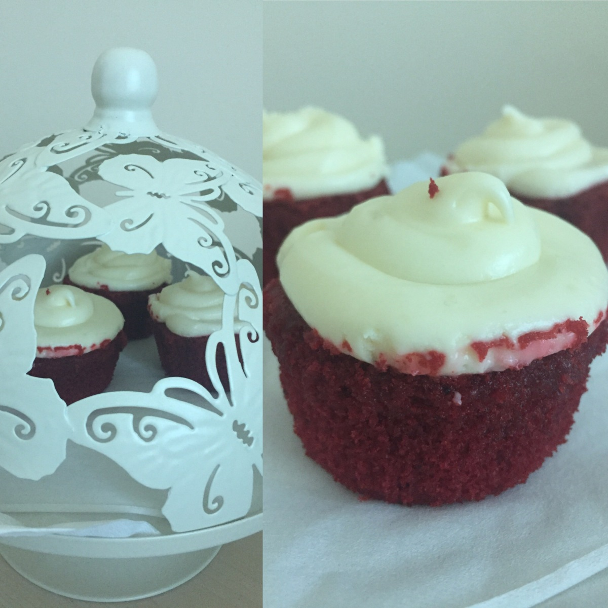 Delicious, Finger Licking Red Velvet Cupcakes.